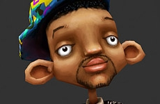 The Fresh Prince of Low-poly